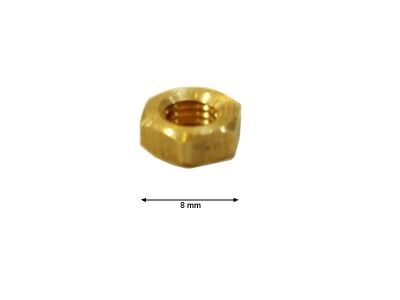 4110.134 NUT HEXAGONAL M5 BRASS